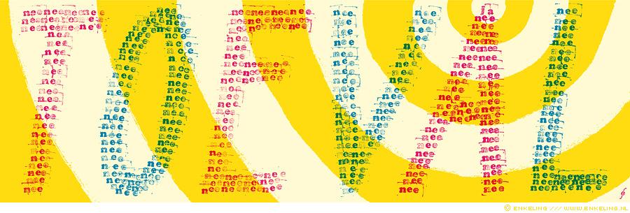 loterij, geluk, toeval, kansberekening, David Hand, typographic, illustration, typografische, illustratie, David Hand, nrc.next, Enkeling, 2015