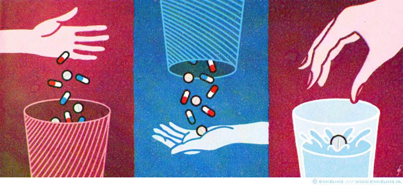 Recycled medicine, Enkeling, 2016