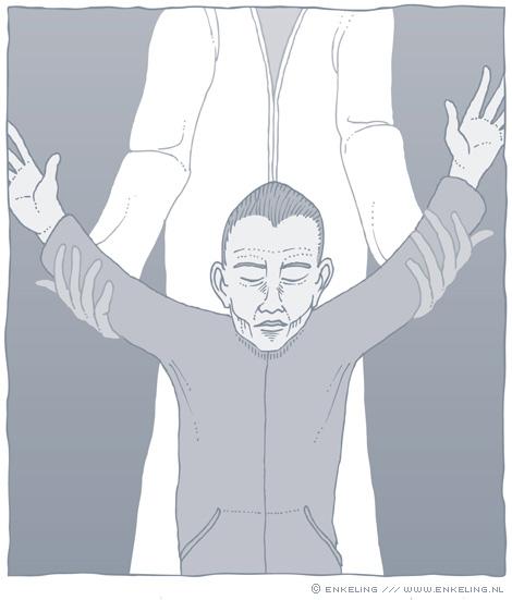 Sektesignaal, sektes, manipulatie, illustratie, illustration, Enkeling, 2016