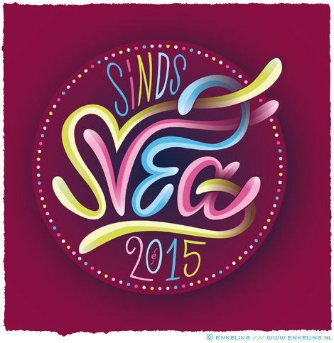 Svea Veenstra, typography, liefste meisje van de wereld, Enkeling, 2016