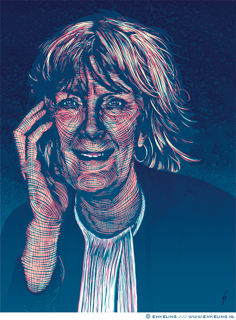 Marianne Kubatsch, Dupe, slachtofferadvocaat, tijdschrift, portret, illustratie, Enkeling, 2017